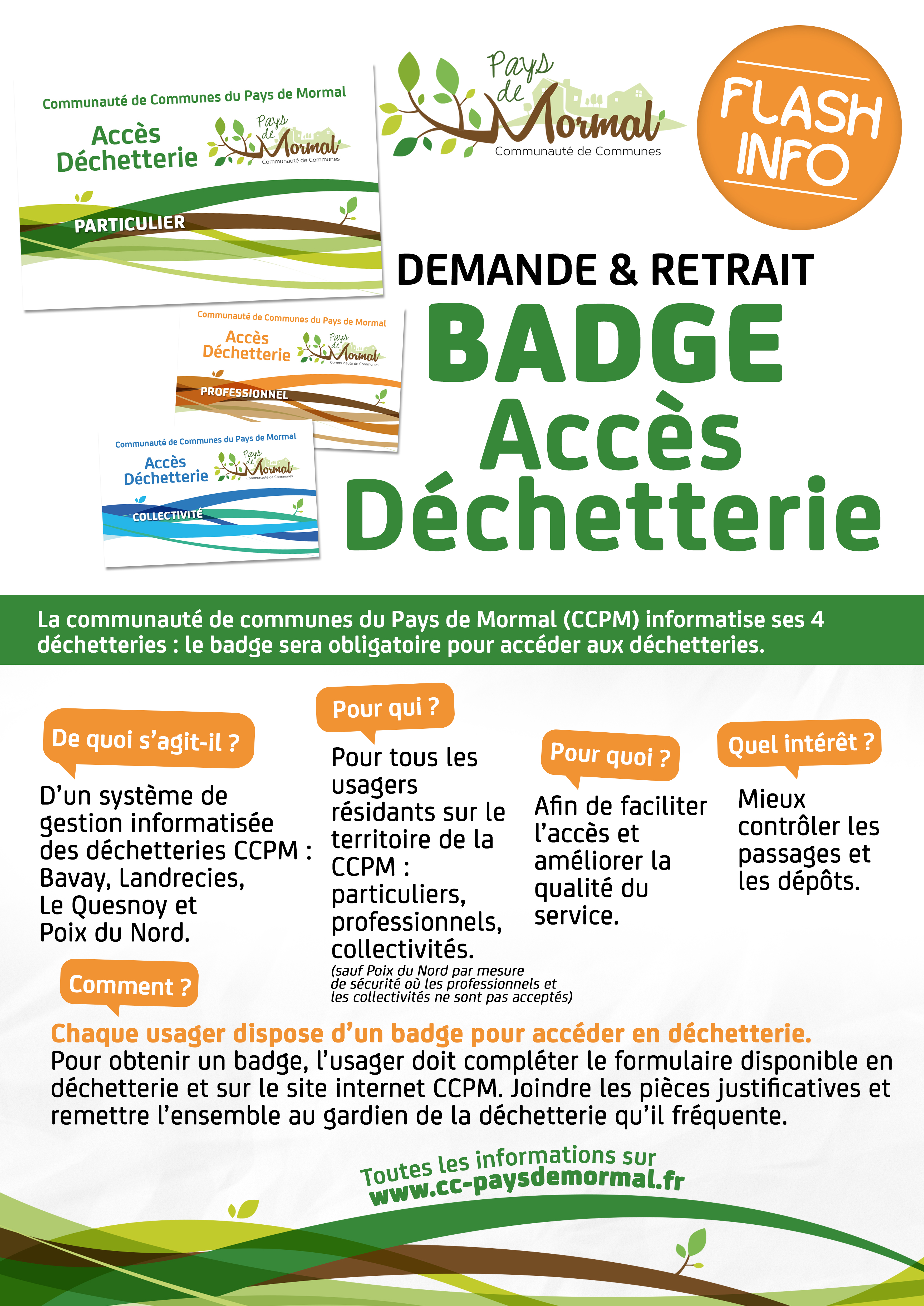 BADGE INFORMATION 3affiche